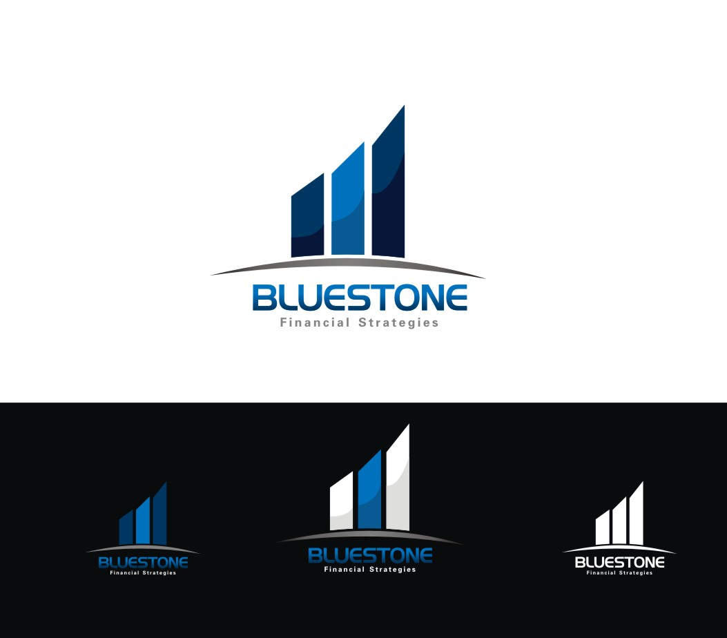 Logo Design by Kojiro Hyuga - Entry No. 329 in the Logo Design Contest Inspiring Logo Design for Branstone Financial Strategies.
