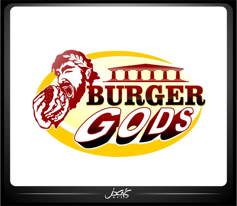 Logo Design by joca - Entry No. 10 in the Logo Design Contest Inspiring Logo Design for Burger Gods.
