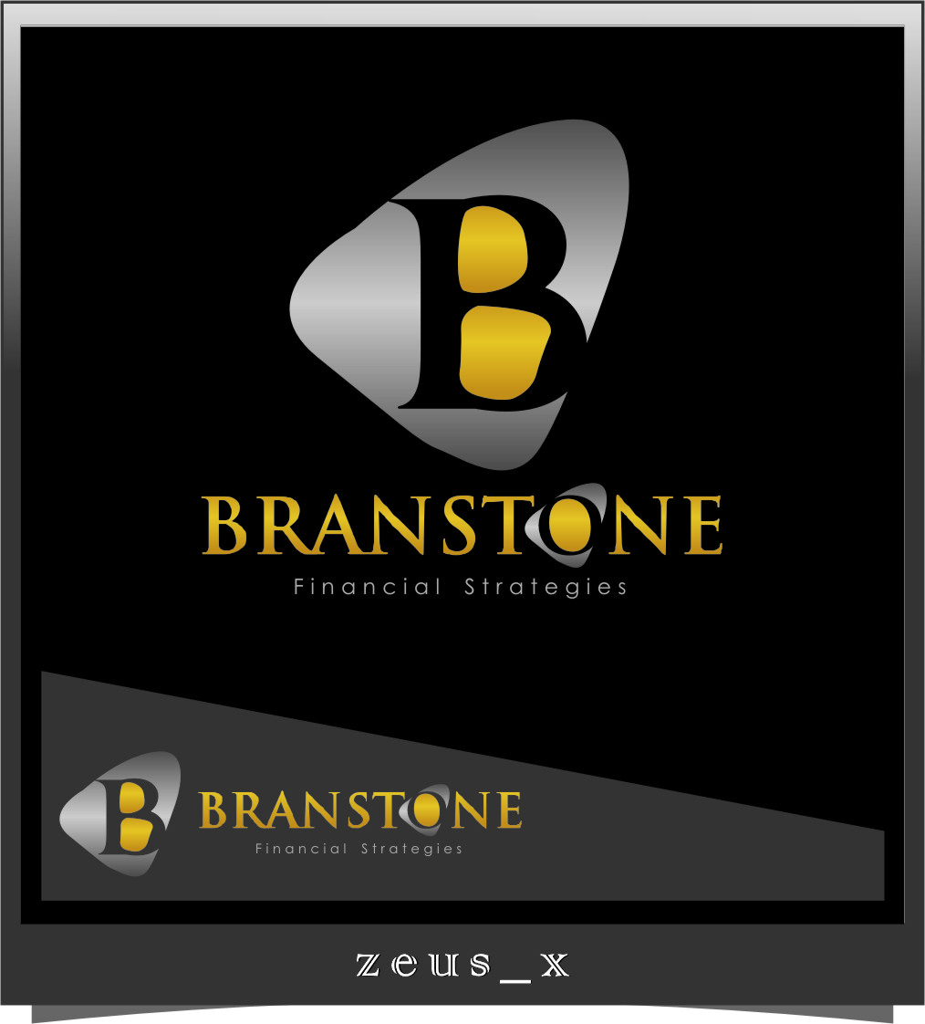 Logo Design by Ngepet_art - Entry No. 332 in the Logo Design Contest Inspiring Logo Design for Branstone Financial Strategies.
