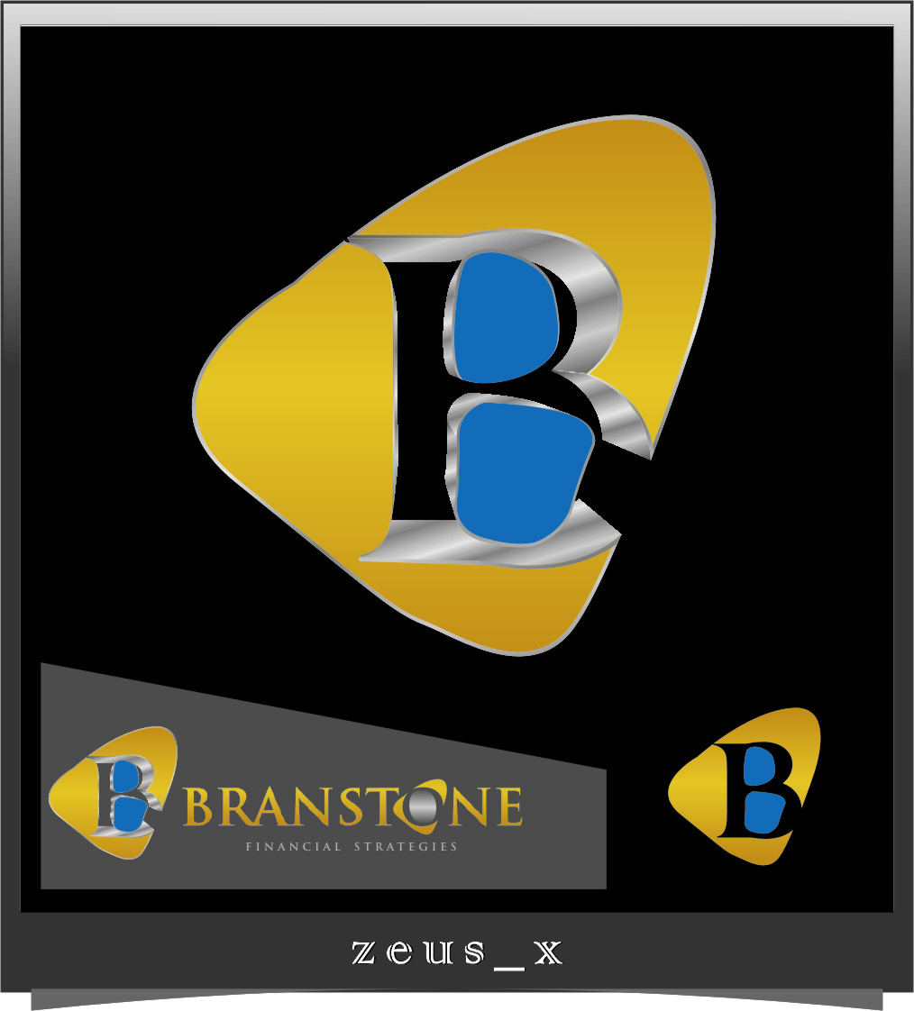 Logo Design by RasYa Muhammad Athaya - Entry No. 333 in the Logo Design Contest Inspiring Logo Design for Branstone Financial Strategies.