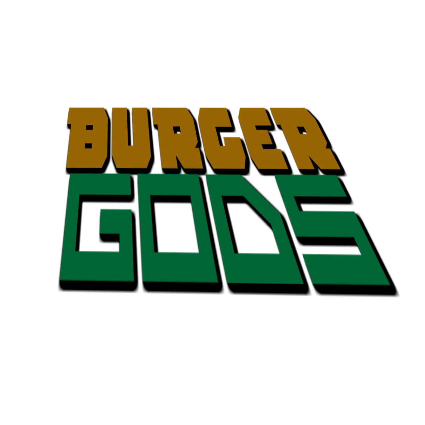 Logo Design by Brian Moelker - Entry No. 11 in the Logo Design Contest Inspiring Logo Design for Burger Gods.