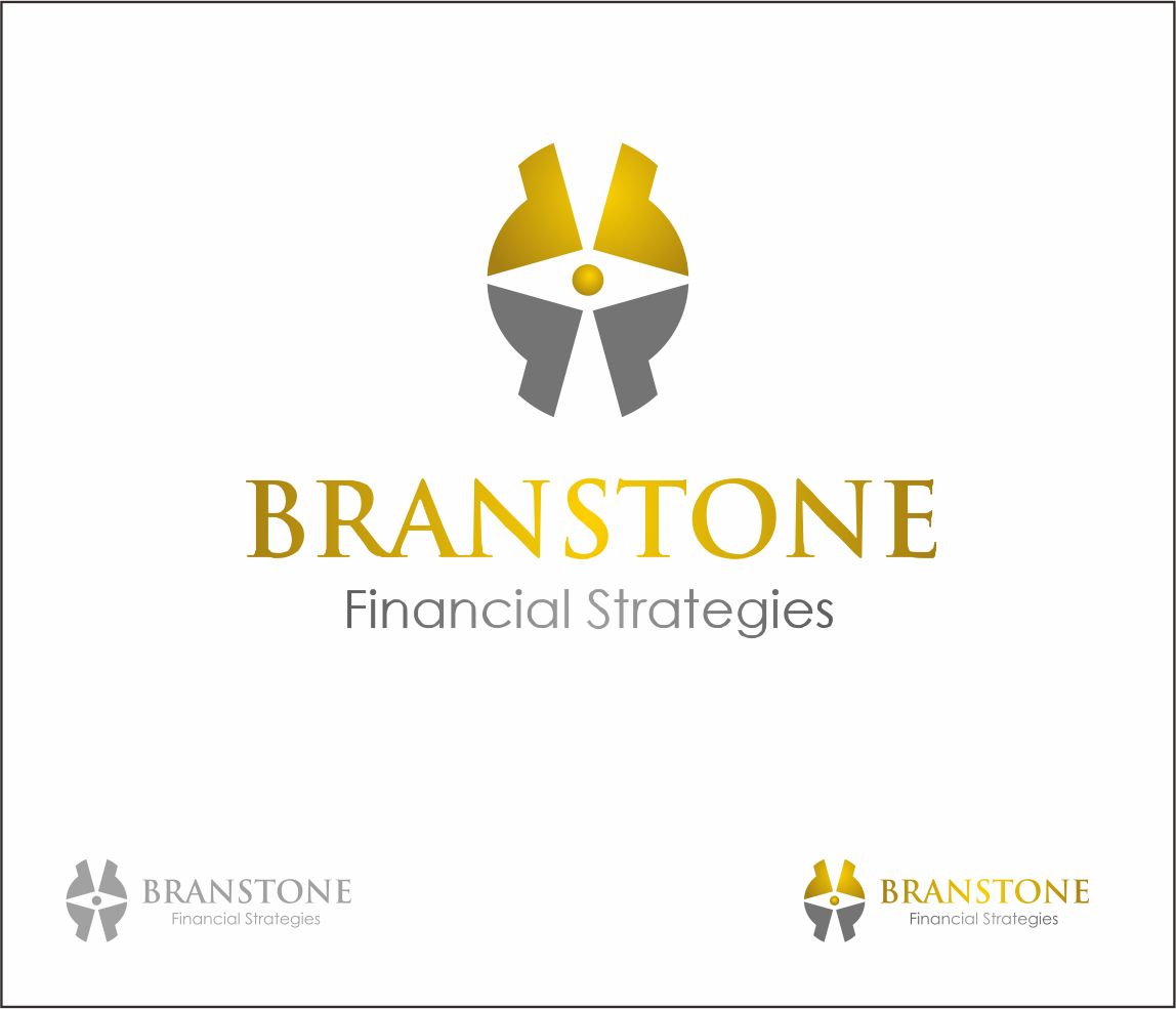 Logo Design by Armada Jamaluddin - Entry No. 334 in the Logo Design Contest Inspiring Logo Design for Branstone Financial Strategies.