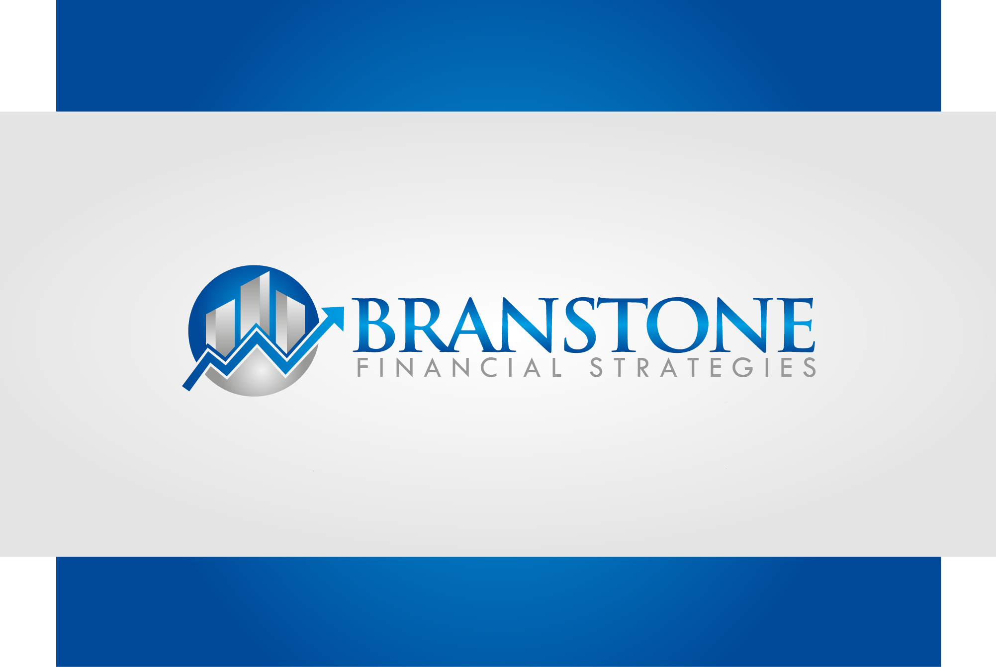 Logo Design by Ryan Hortizuela - Entry No. 335 in the Logo Design Contest Inspiring Logo Design for Branstone Financial Strategies.