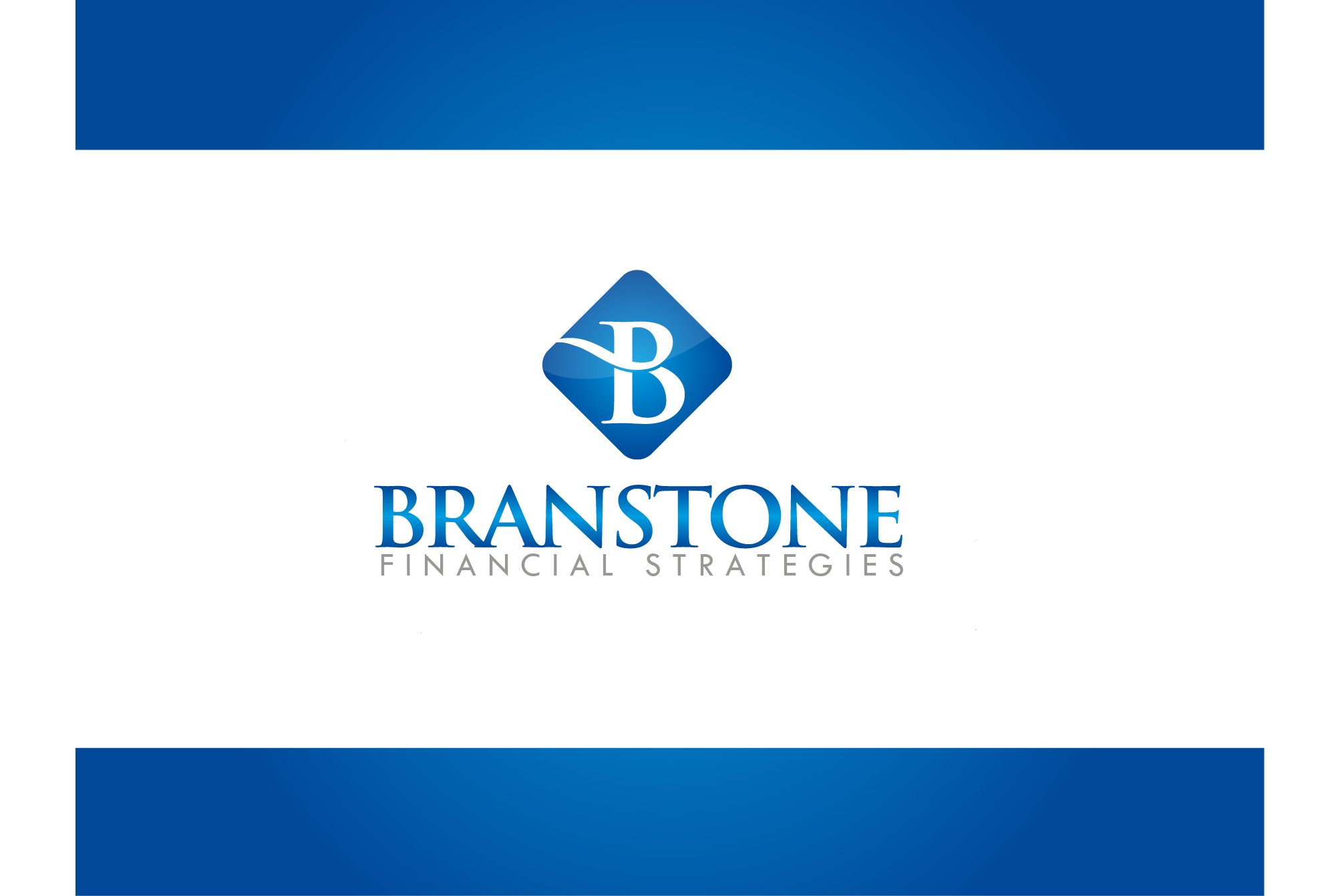Logo Design by Ryan Hortizuela - Entry No. 337 in the Logo Design Contest Inspiring Logo Design for Branstone Financial Strategies.