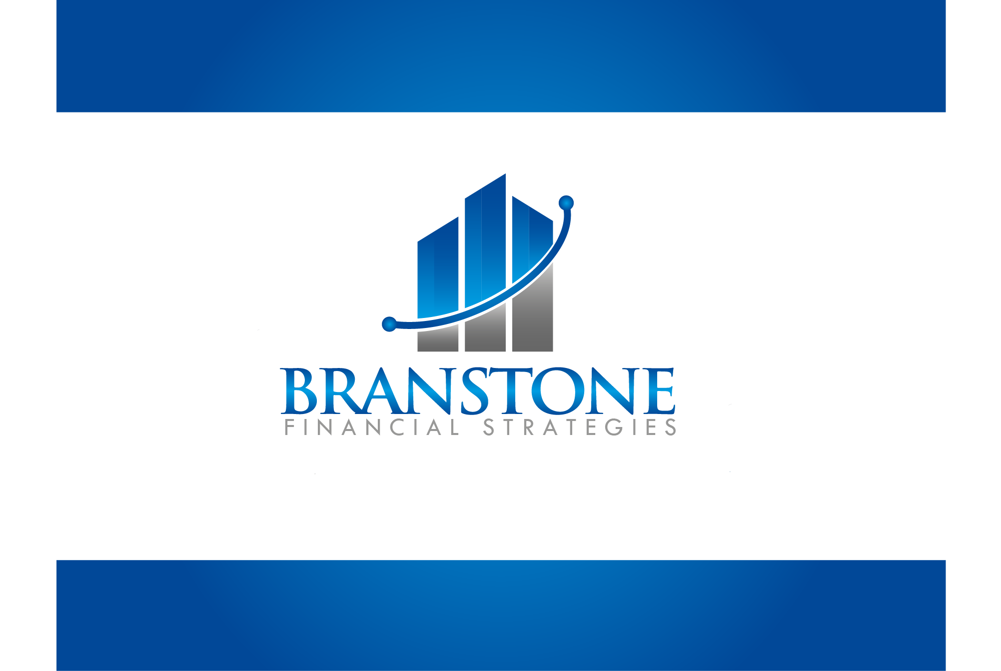 Logo Design by Ryan Hortizuela - Entry No. 339 in the Logo Design Contest Inspiring Logo Design for Branstone Financial Strategies.