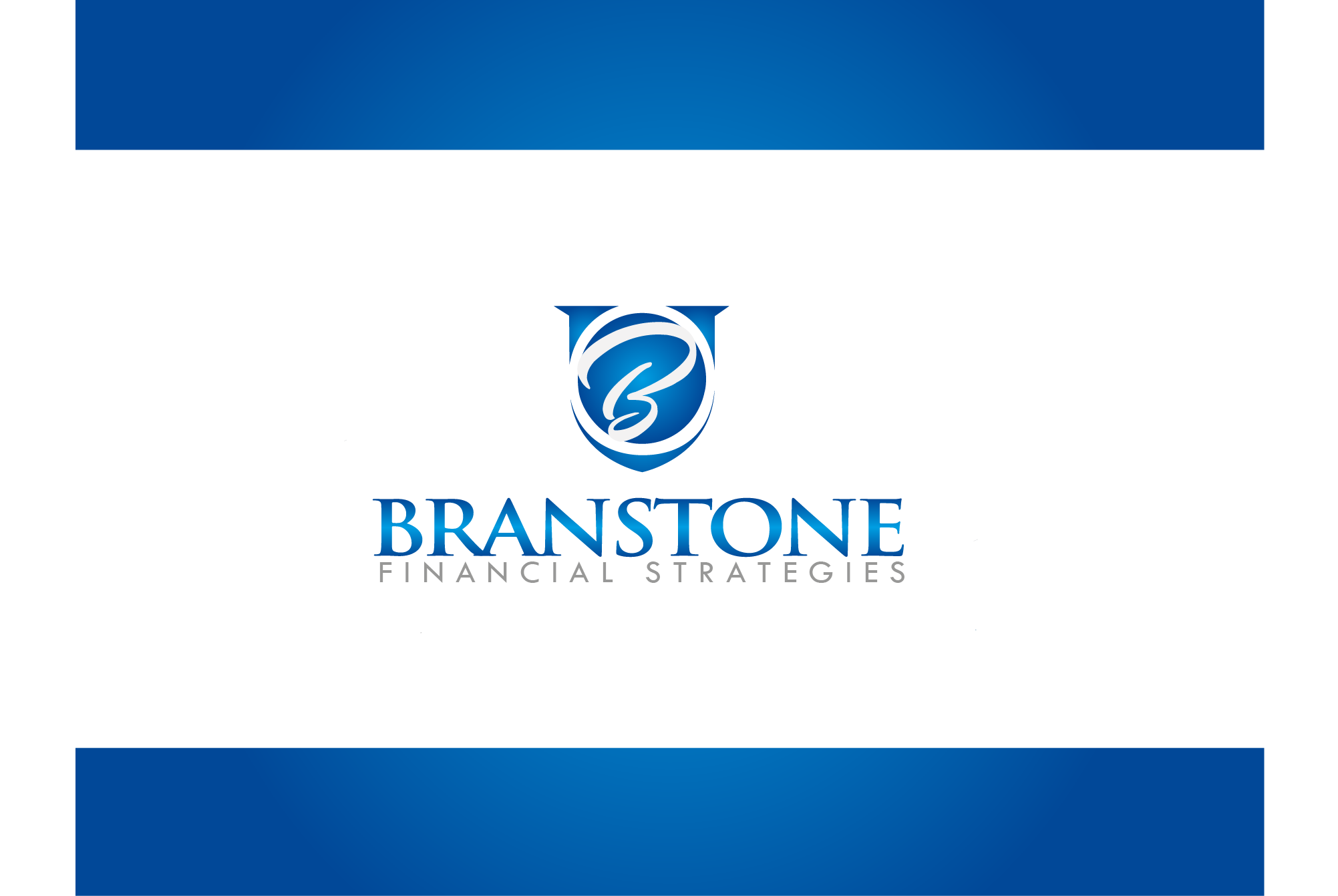 Logo Design by Ryan Hortizuela - Entry No. 341 in the Logo Design Contest Inspiring Logo Design for Branstone Financial Strategies.