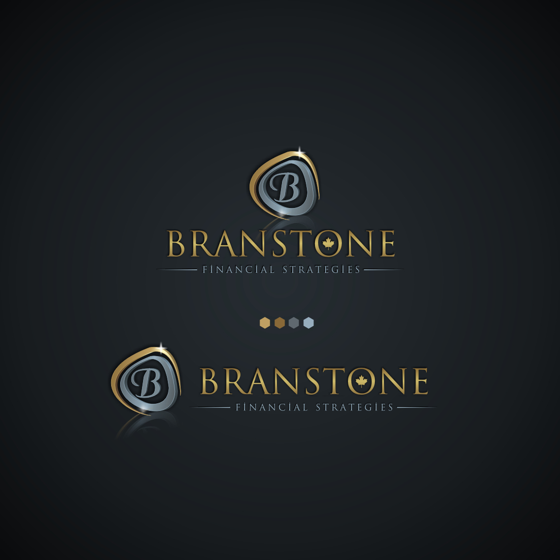 Logo Design by Think - Entry No. 342 in the Logo Design Contest Inspiring Logo Design for Branstone Financial Strategies.
