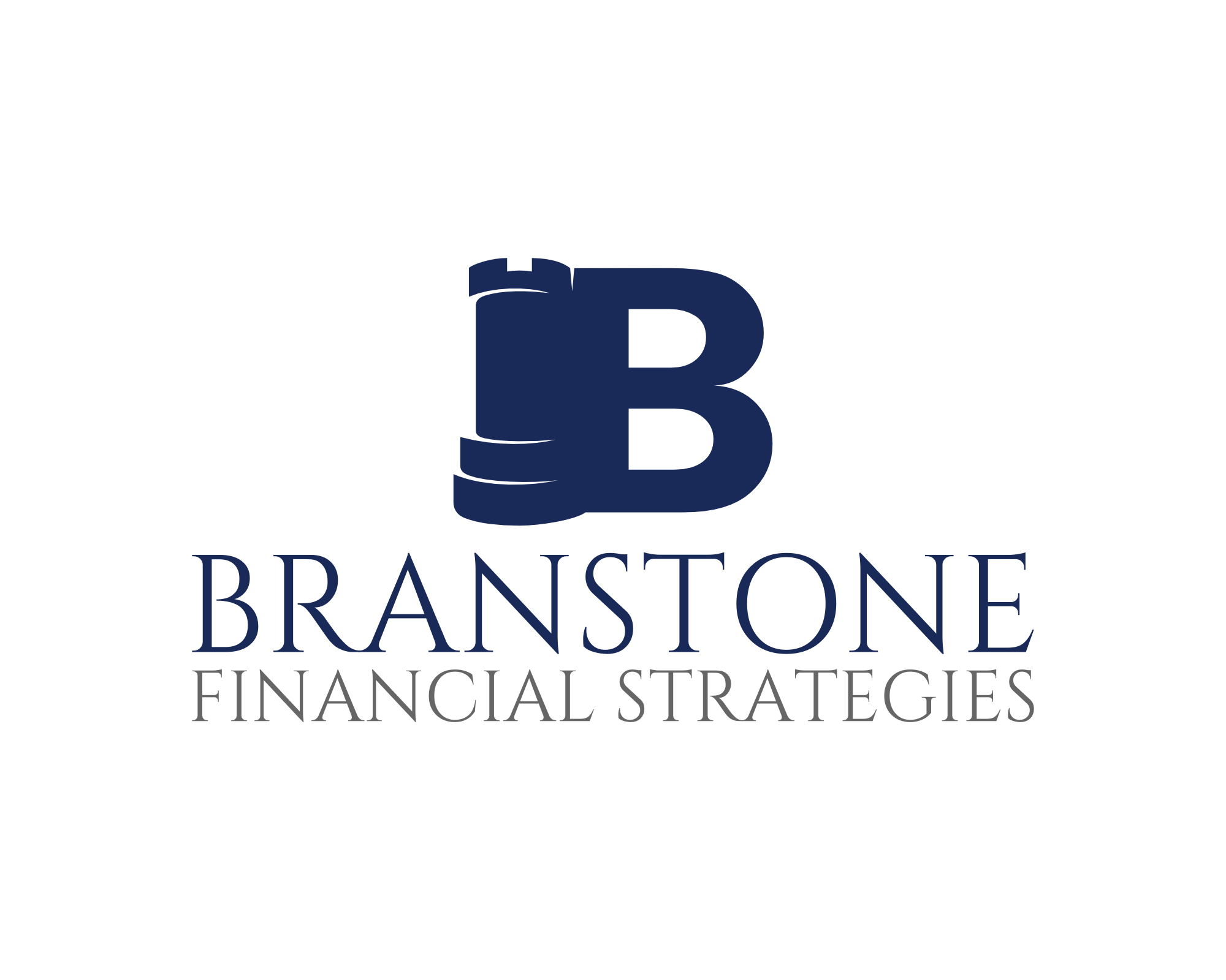 Logo Design by explogos - Entry No. 348 in the Logo Design Contest Inspiring Logo Design for Branstone Financial Strategies.