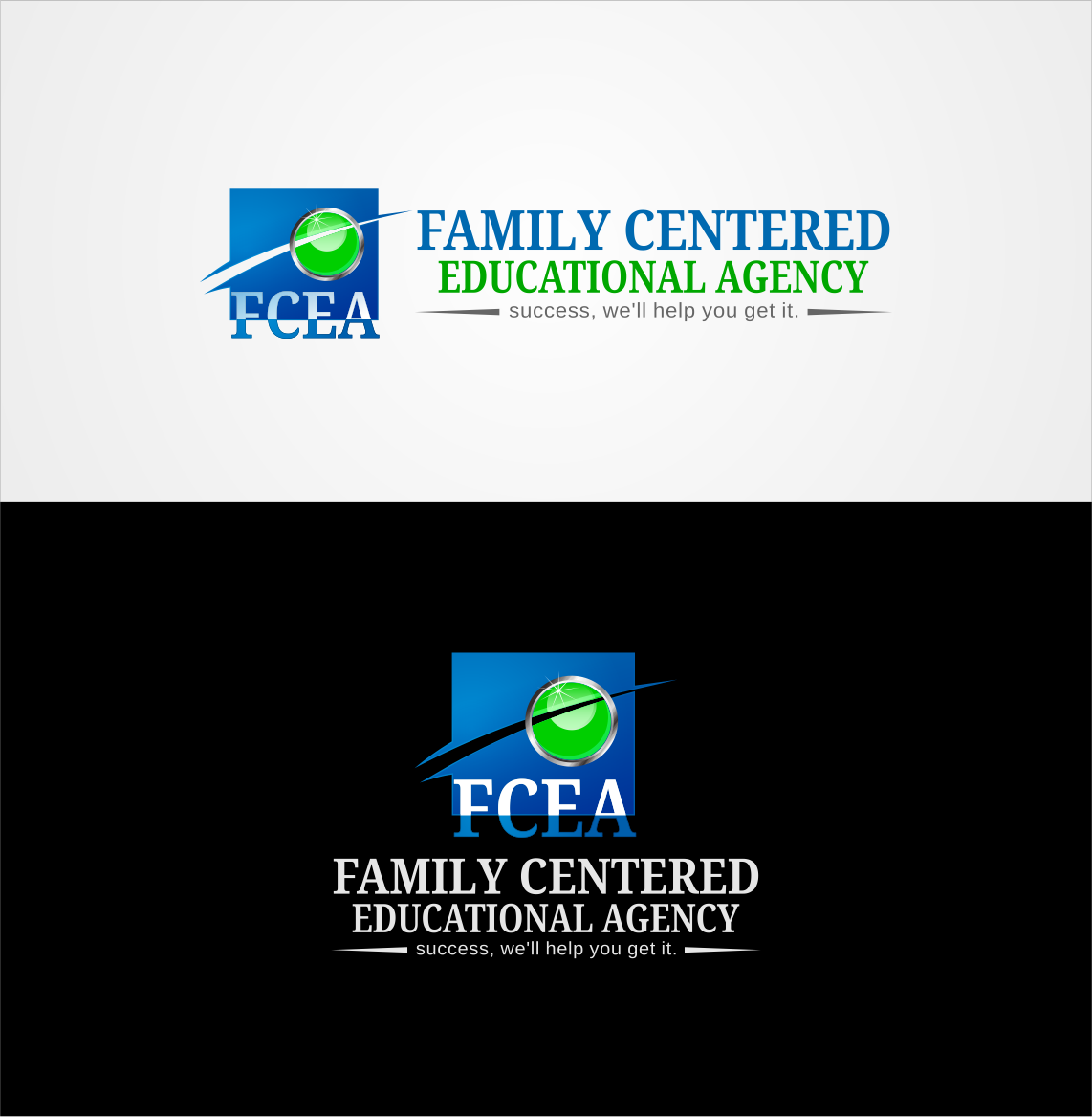 Logo Design by Private User - Entry No. 9 in the Logo Design Contest Captivating Logo Design for Family Centered Educational Agency.