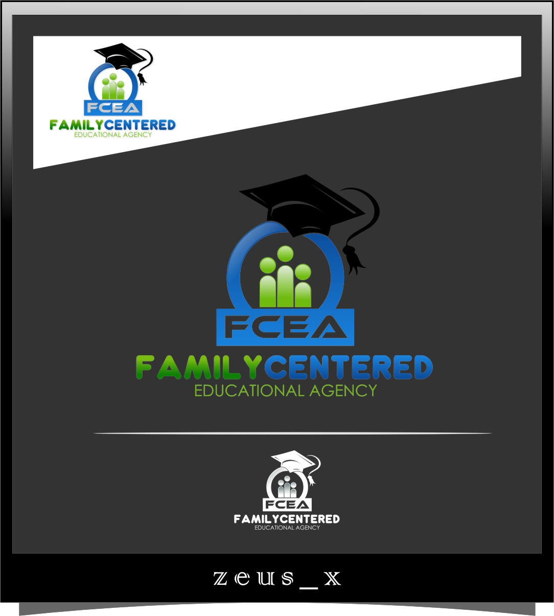 Logo Design by Ngepet_art - Entry No. 11 in the Logo Design Contest Captivating Logo Design for Family Centered Educational Agency.