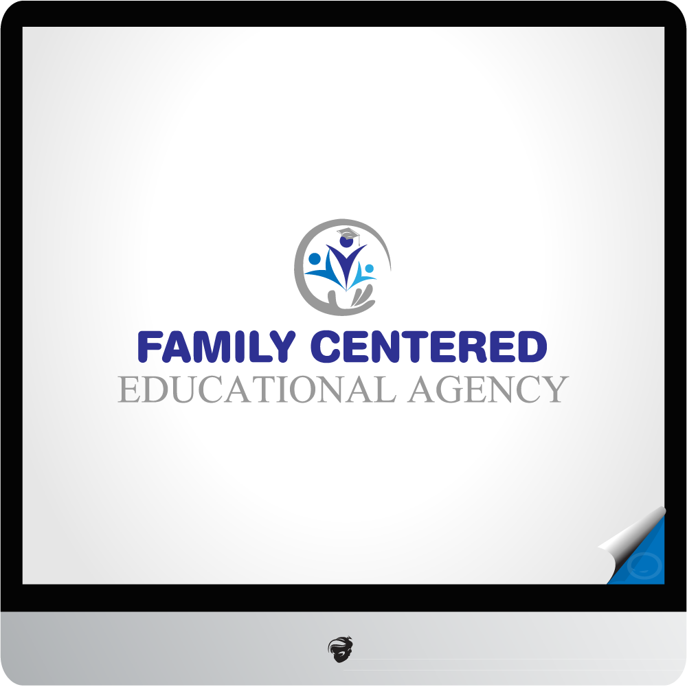 Logo Design by zesthar - Entry No. 12 in the Logo Design Contest Captivating Logo Design for Family Centered Educational Agency.