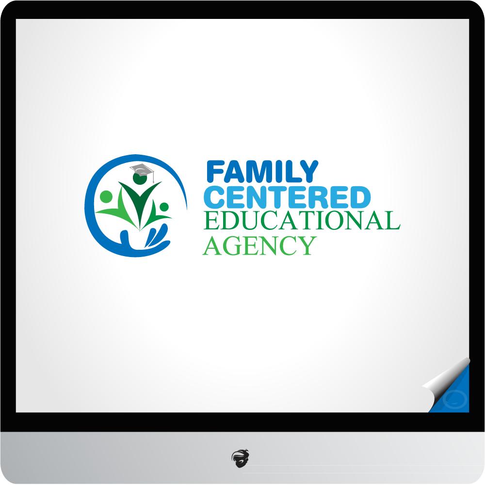 Logo Design by zesthar - Entry No. 14 in the Logo Design Contest Captivating Logo Design for Family Centered Educational Agency.