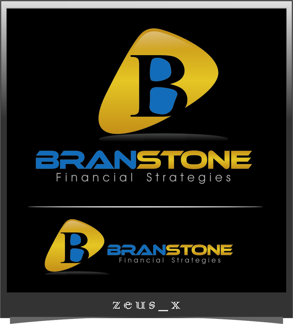 Logo Design by Ngepet_art - Entry No. 358 in the Logo Design Contest Inspiring Logo Design for Branstone Financial Strategies.