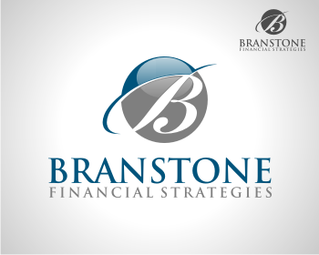 Logo Design by Deni Prawira - Entry No. 360 in the Logo Design Contest Inspiring Logo Design for Branstone Financial Strategies.