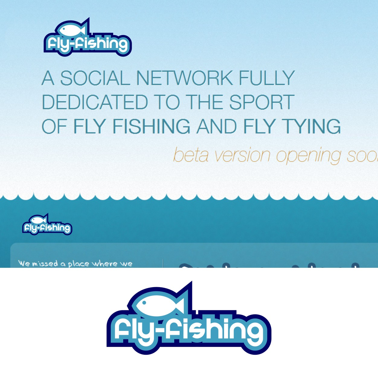 Logo Design by Private User - Entry No. 4 in the Logo Design Contest Artistic Logo Design for fly-fishing.net.