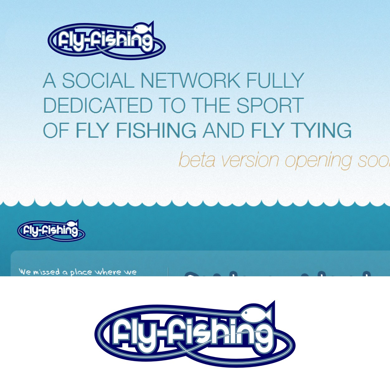 Logo Design by Private User - Entry No. 5 in the Logo Design Contest Artistic Logo Design for fly-fishing.net.