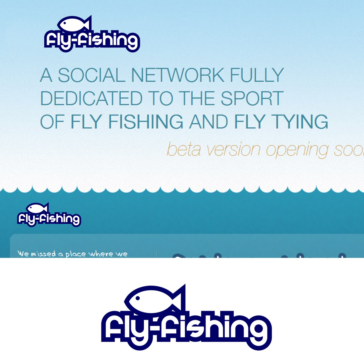 Logo Design by Private User - Entry No. 7 in the Logo Design Contest Artistic Logo Design for fly-fishing.net.