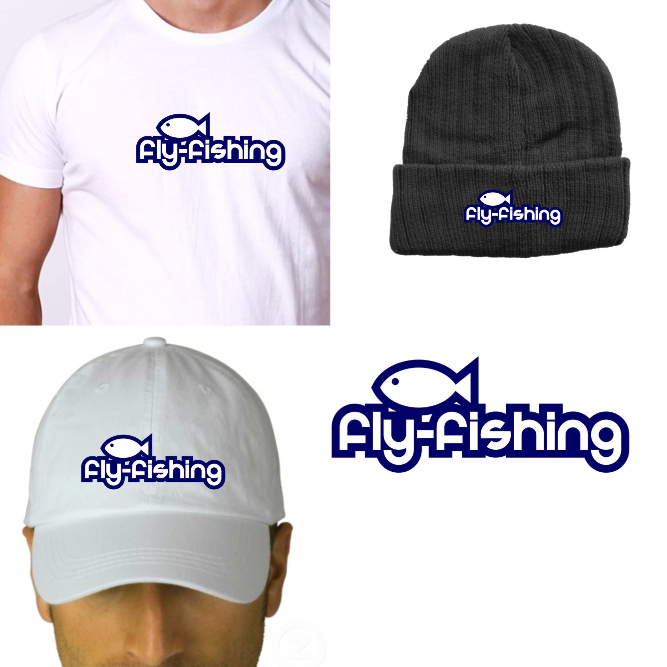 Logo Design by Private User - Entry No. 9 in the Logo Design Contest Artistic Logo Design for fly-fishing.net.