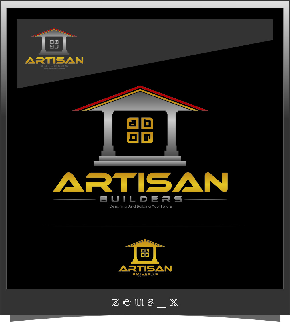 Logo Design by RasYa Muhammad Athaya - Entry No. 123 in the Logo Design Contest Captivating Logo Design for Artisan Builders.