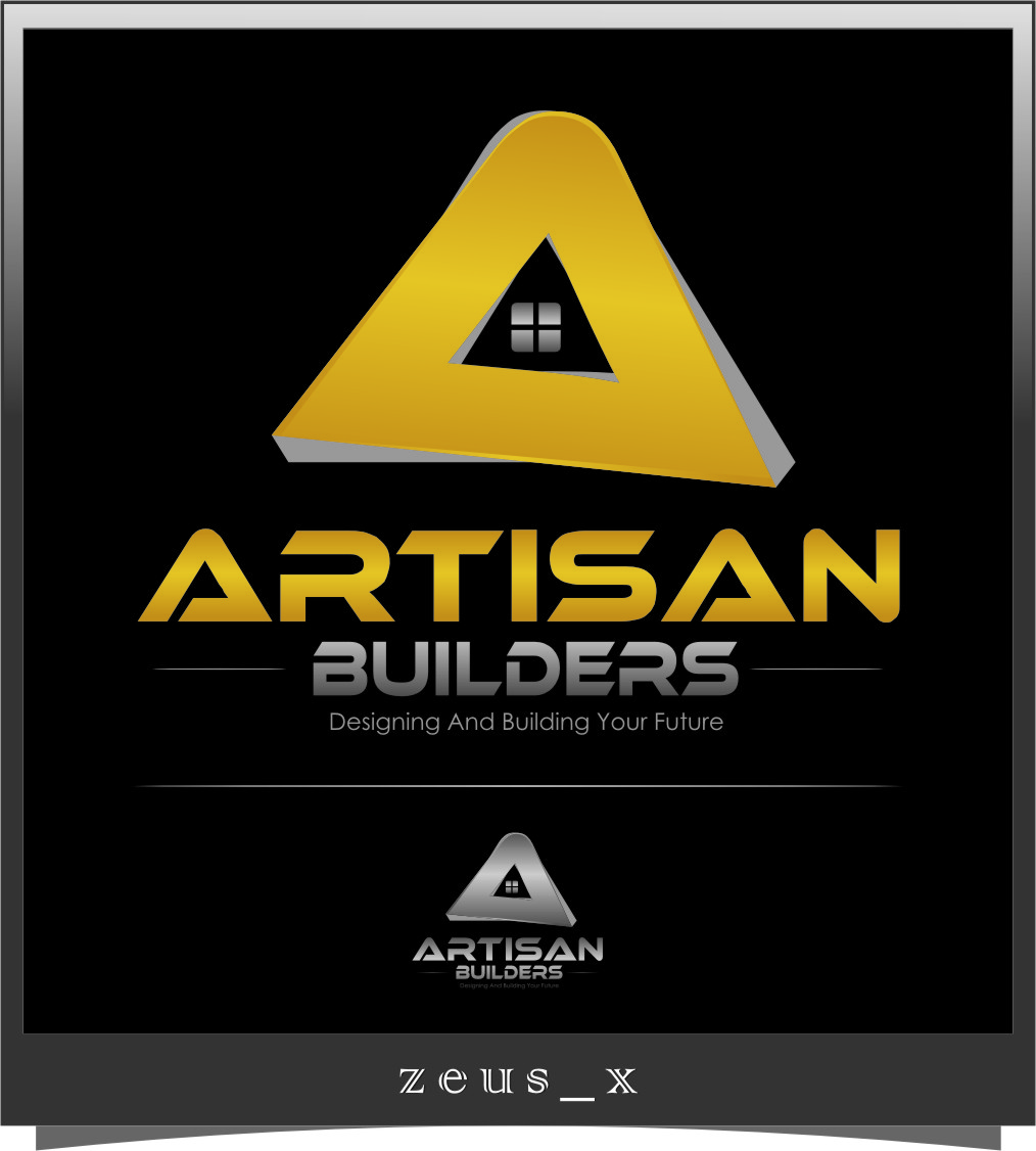 Logo Design by RasYa Muhammad Athaya - Entry No. 124 in the Logo Design Contest Captivating Logo Design for Artisan Builders.