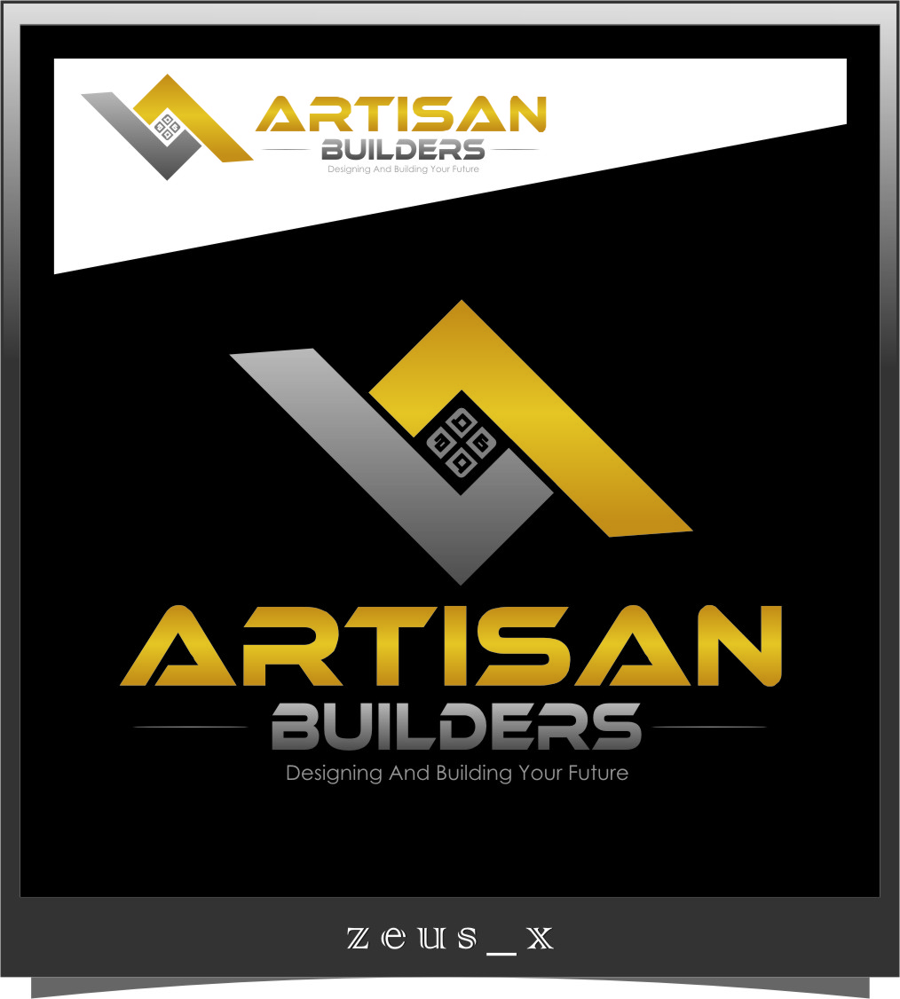 Logo Design by Ngepet_art - Entry No. 125 in the Logo Design Contest Captivating Logo Design for Artisan Builders.