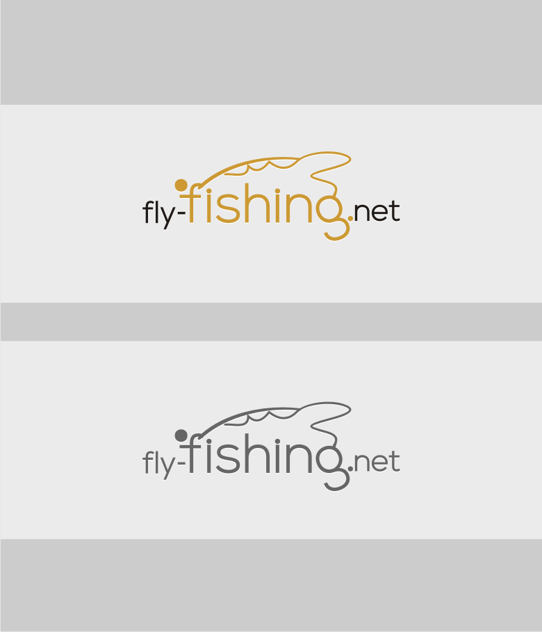 Logo Design by graphicleaf - Entry No. 13 in the Logo Design Contest Artistic Logo Design for fly-fishing.net.