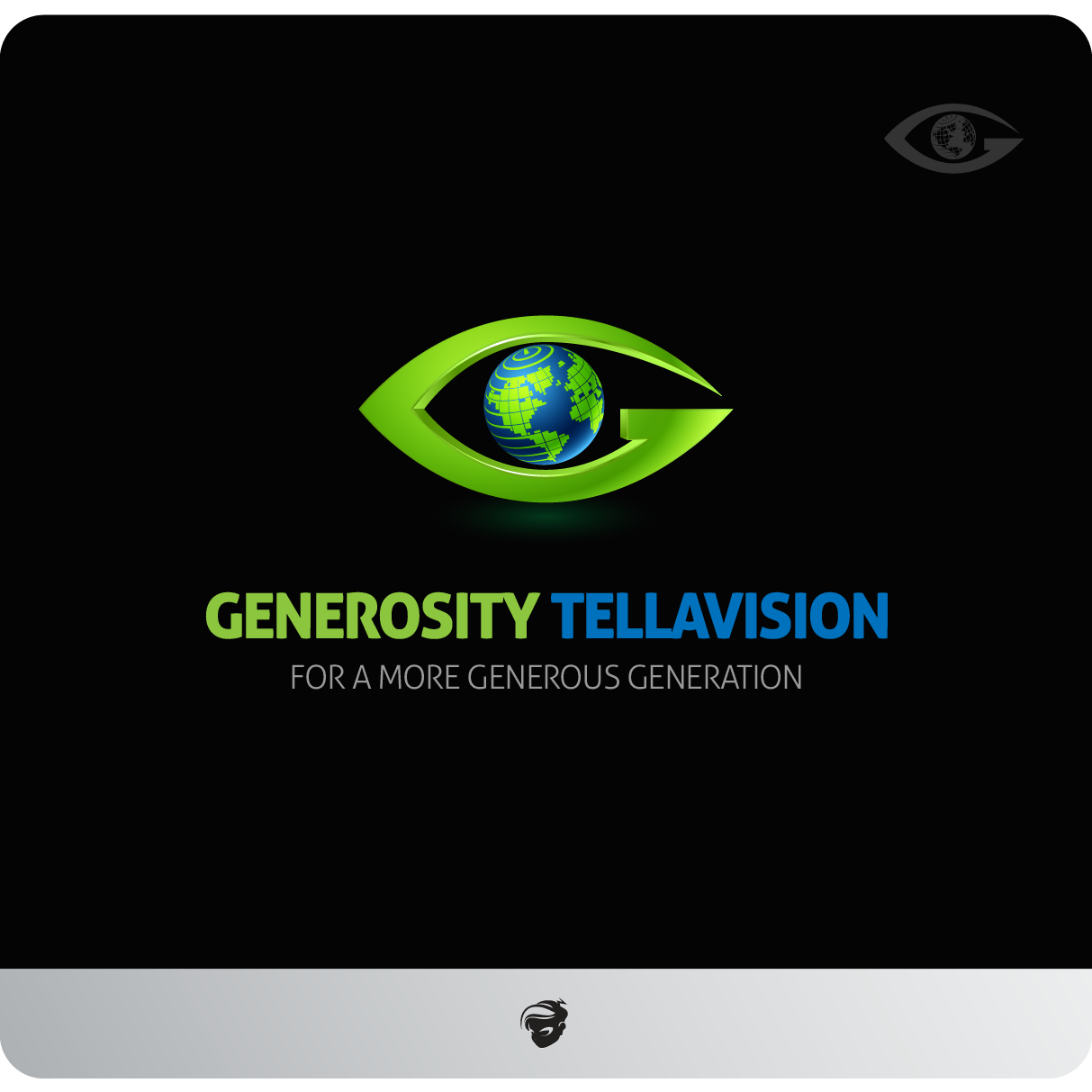 Logo Design by zesthar - Entry No. 28 in the Logo Design Contest Artistic Logo Design for Generosity TellAVision.