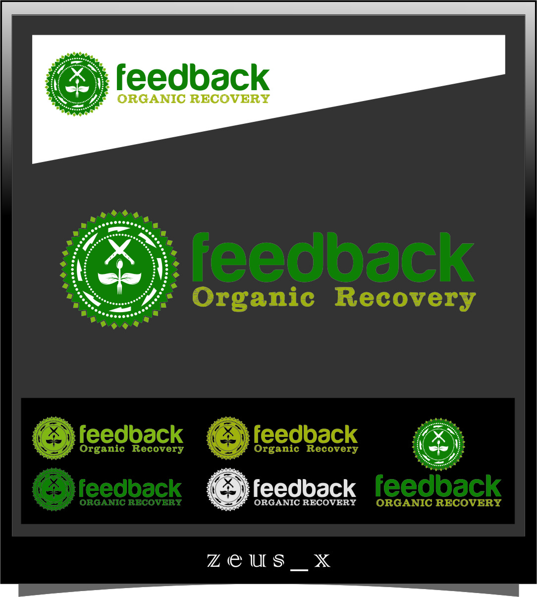 Logo Design by Ngepet_art - Entry No. 68 in the Logo Design Contest Feedback Organic Recovery  Logo Design.