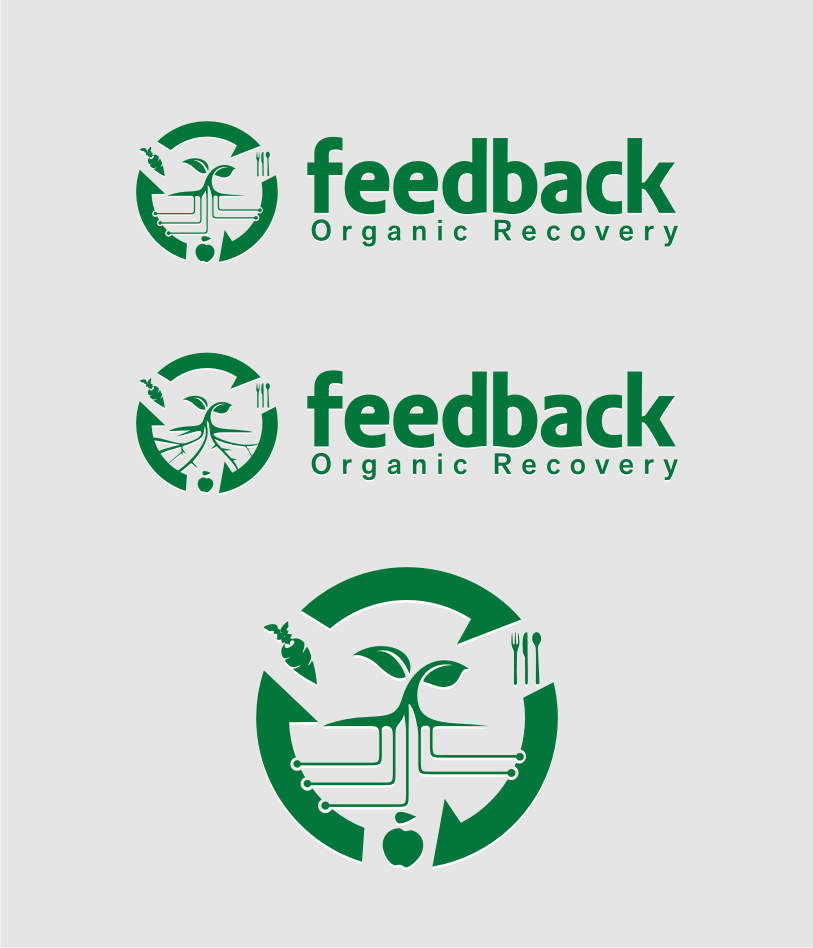 Logo Design by Muhammad Nasrul chasib - Entry No. 73 in the Logo Design Contest Feedback Organic Recovery  Logo Design.