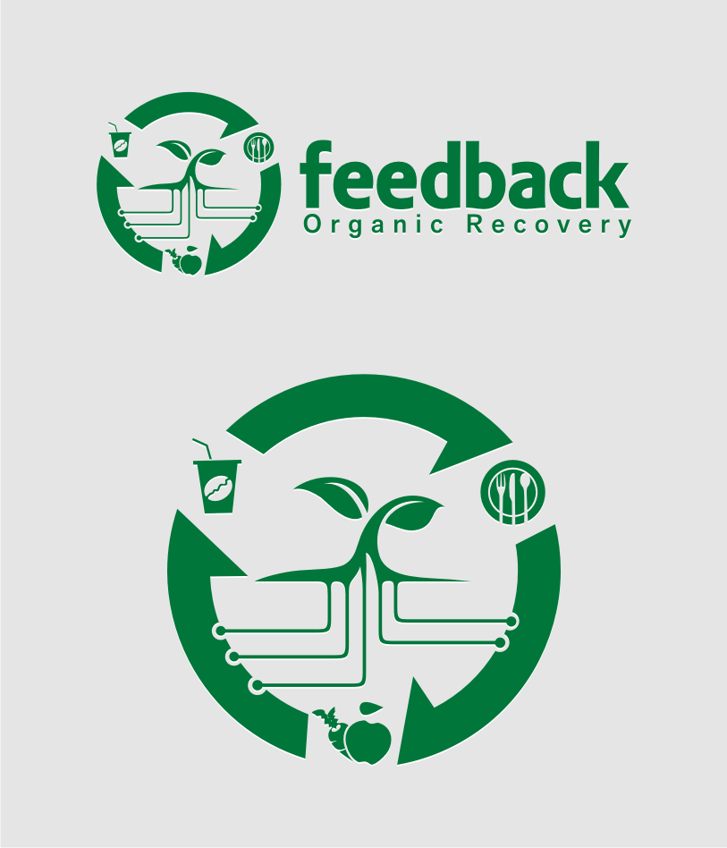 Logo Design by Muhammad Nasrul chasib - Entry No. 75 in the Logo Design Contest Feedback Organic Recovery  Logo Design.