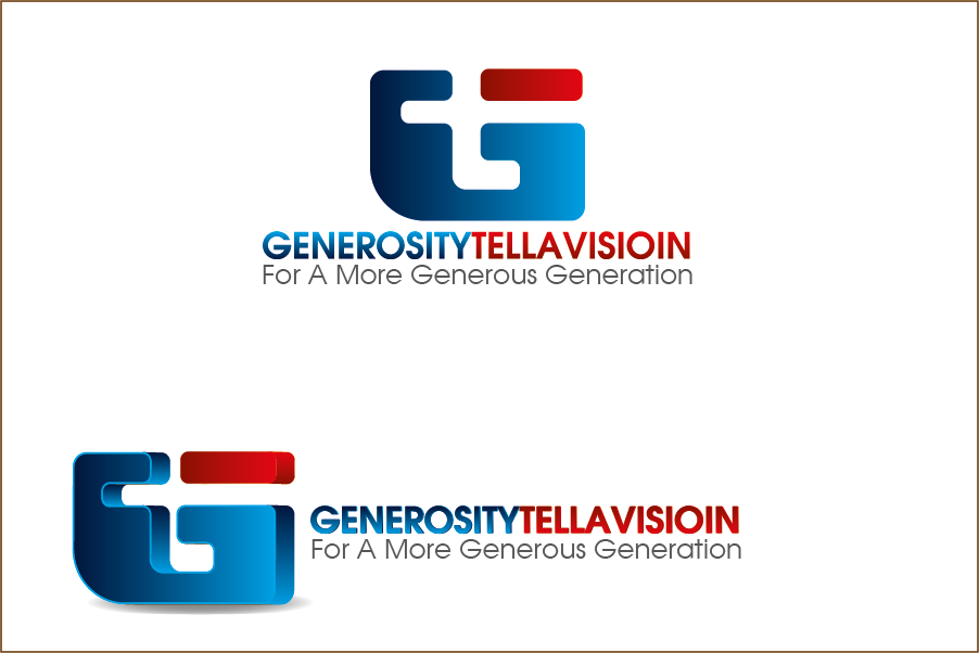 Logo Design by Private User - Entry No. 31 in the Logo Design Contest Artistic Logo Design for Generosity TellAVision.