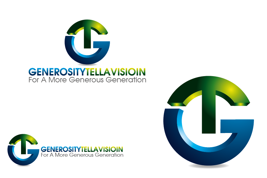 Logo Design by Private User - Entry No. 33 in the Logo Design Contest Artistic Logo Design for Generosity TellAVision.