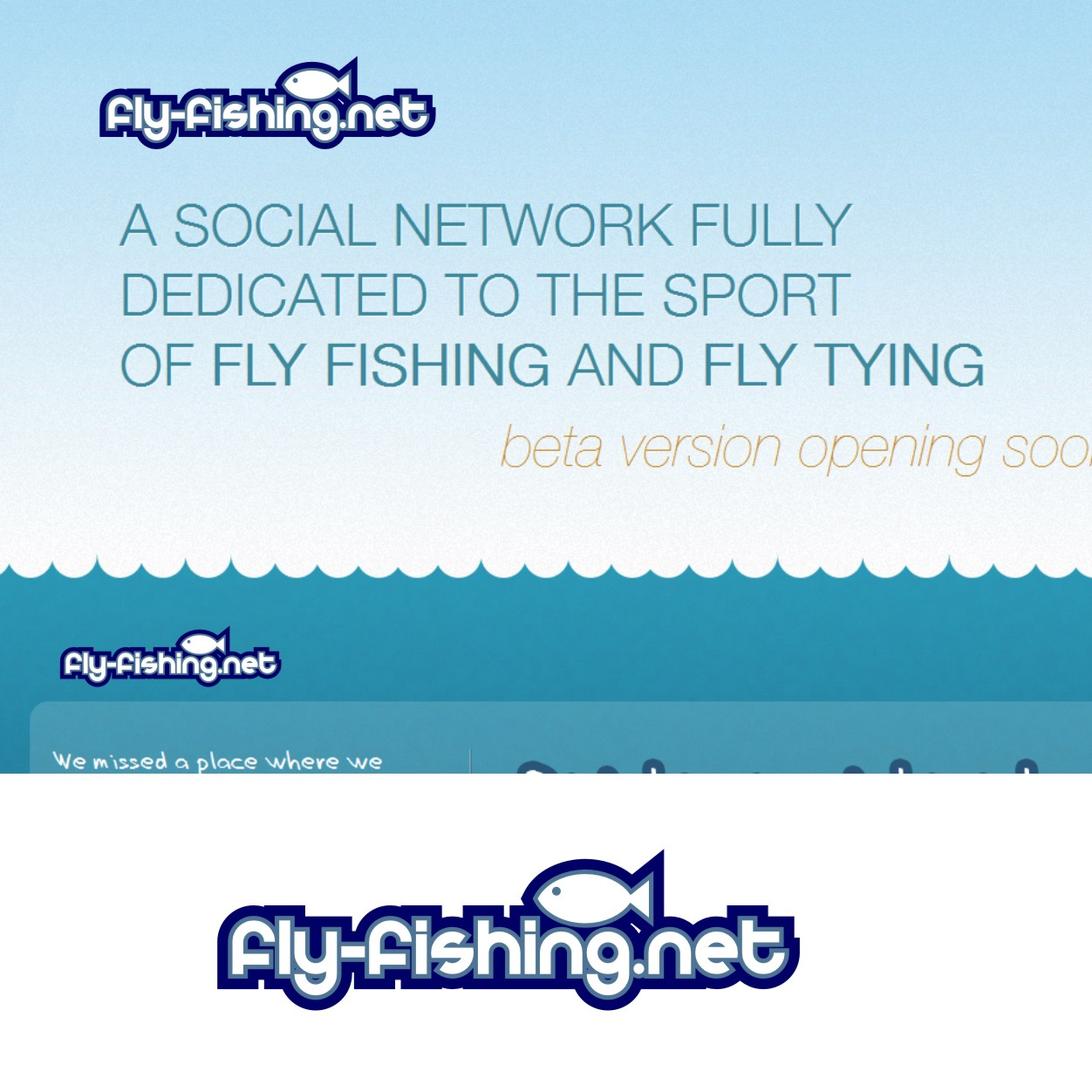 Logo Design by Private User - Entry No. 18 in the Logo Design Contest Artistic Logo Design for fly-fishing.net.