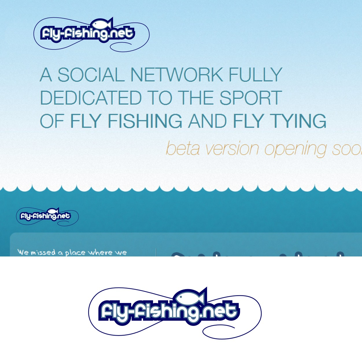 Logo Design by Private User - Entry No. 19 in the Logo Design Contest Artistic Logo Design for fly-fishing.net.