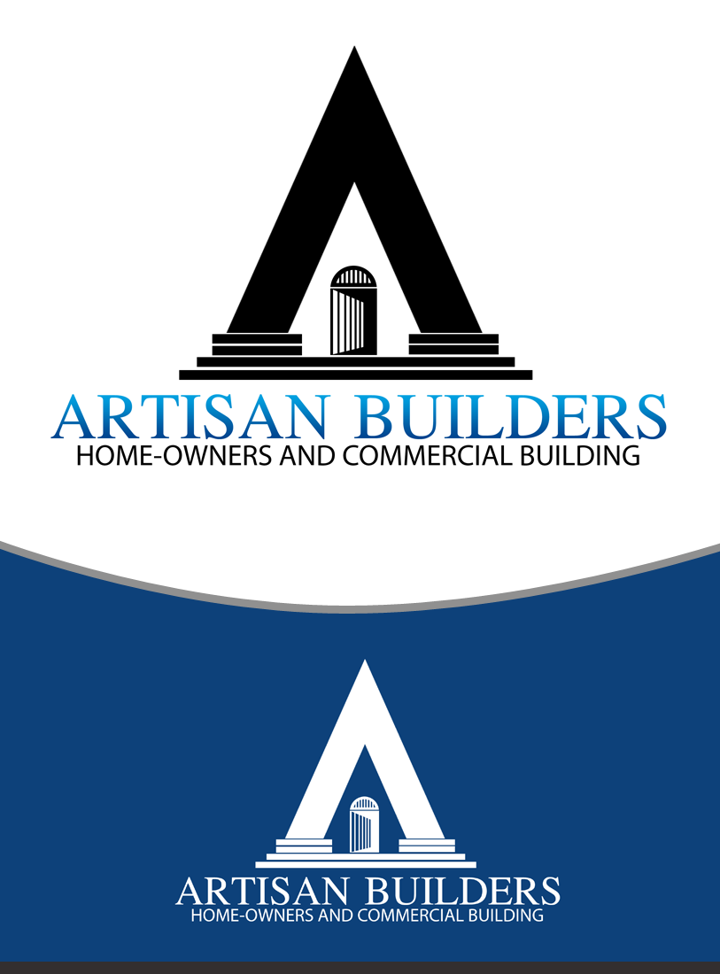 Logo Design by Private User - Entry No. 131 in the Logo Design Contest Captivating Logo Design for Artisan Builders.