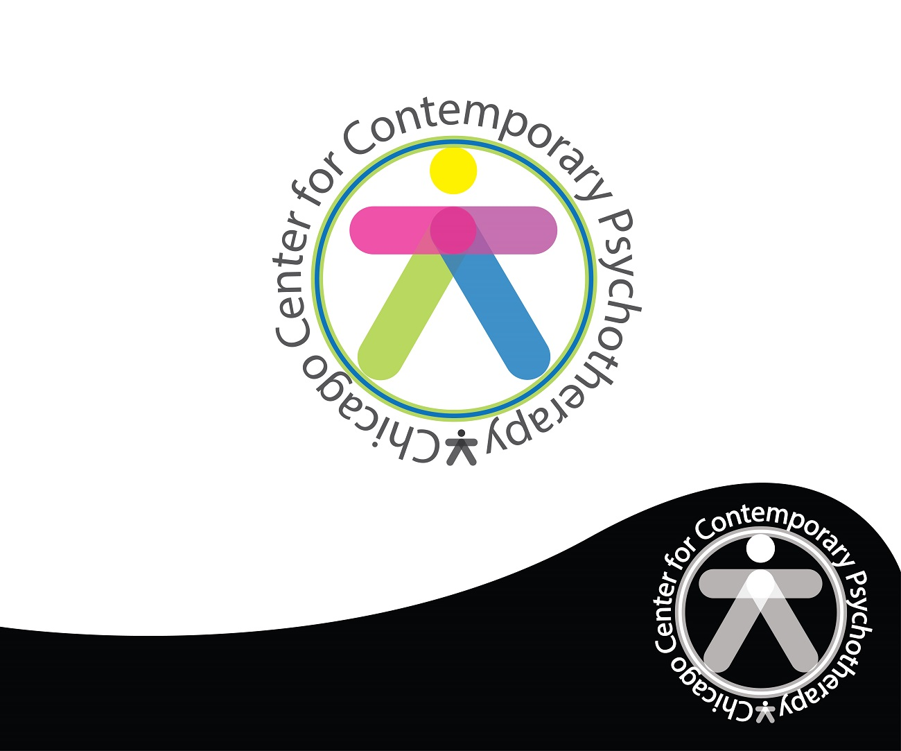 Logo Design by jhunzkie24 - Entry No. 42 in the Logo Design Contest Inspiring Logo Design for Chicago Center for Contemporary Psychotherapy.