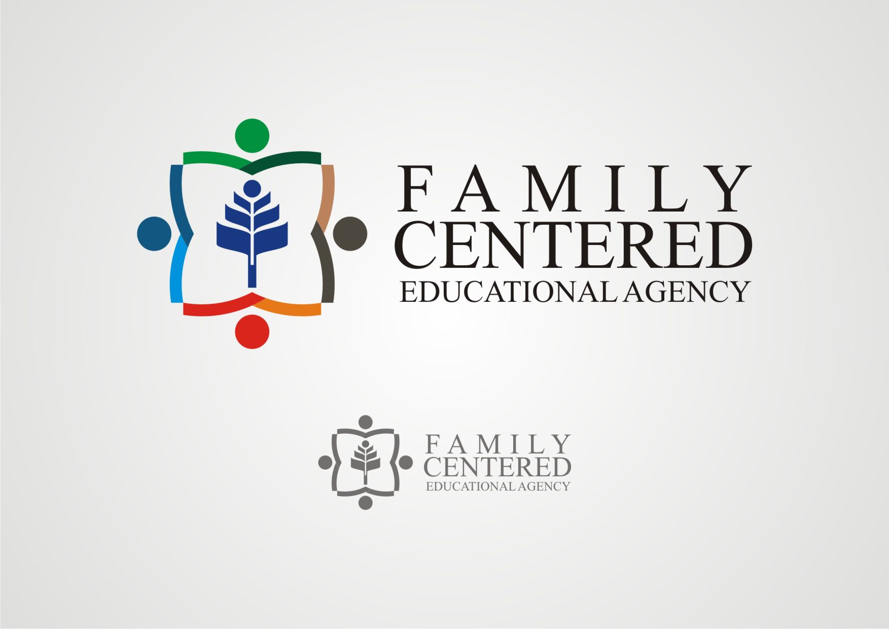 Logo Design by Private User - Entry No. 17 in the Logo Design Contest Captivating Logo Design for Family Centered Educational Agency.