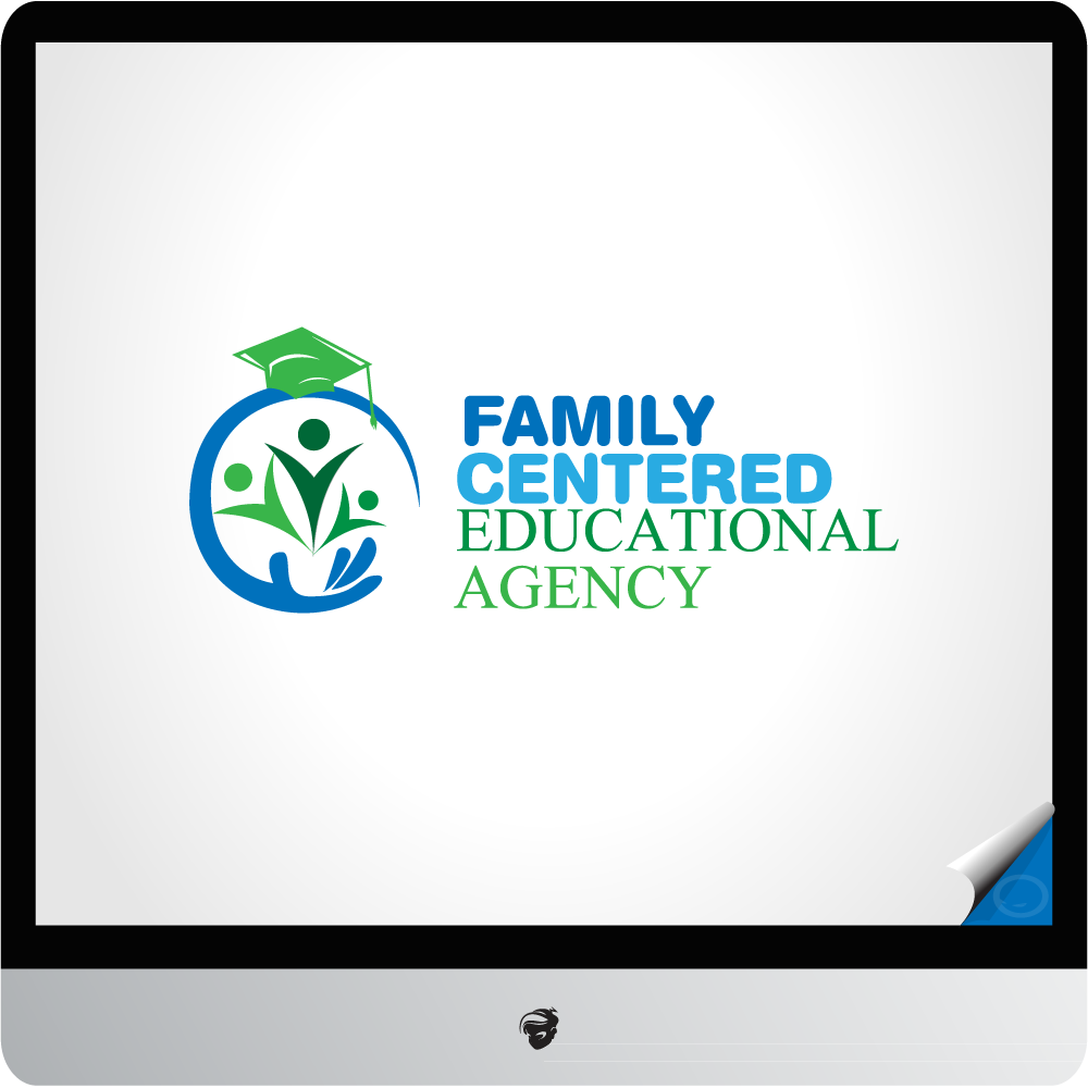 Logo Design by zesthar - Entry No. 18 in the Logo Design Contest Captivating Logo Design for Family Centered Educational Agency.
