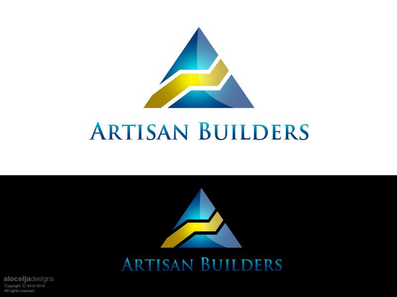 Logo Design by alocelja - Entry No. 135 in the Logo Design Contest Captivating Logo Design for Artisan Builders.