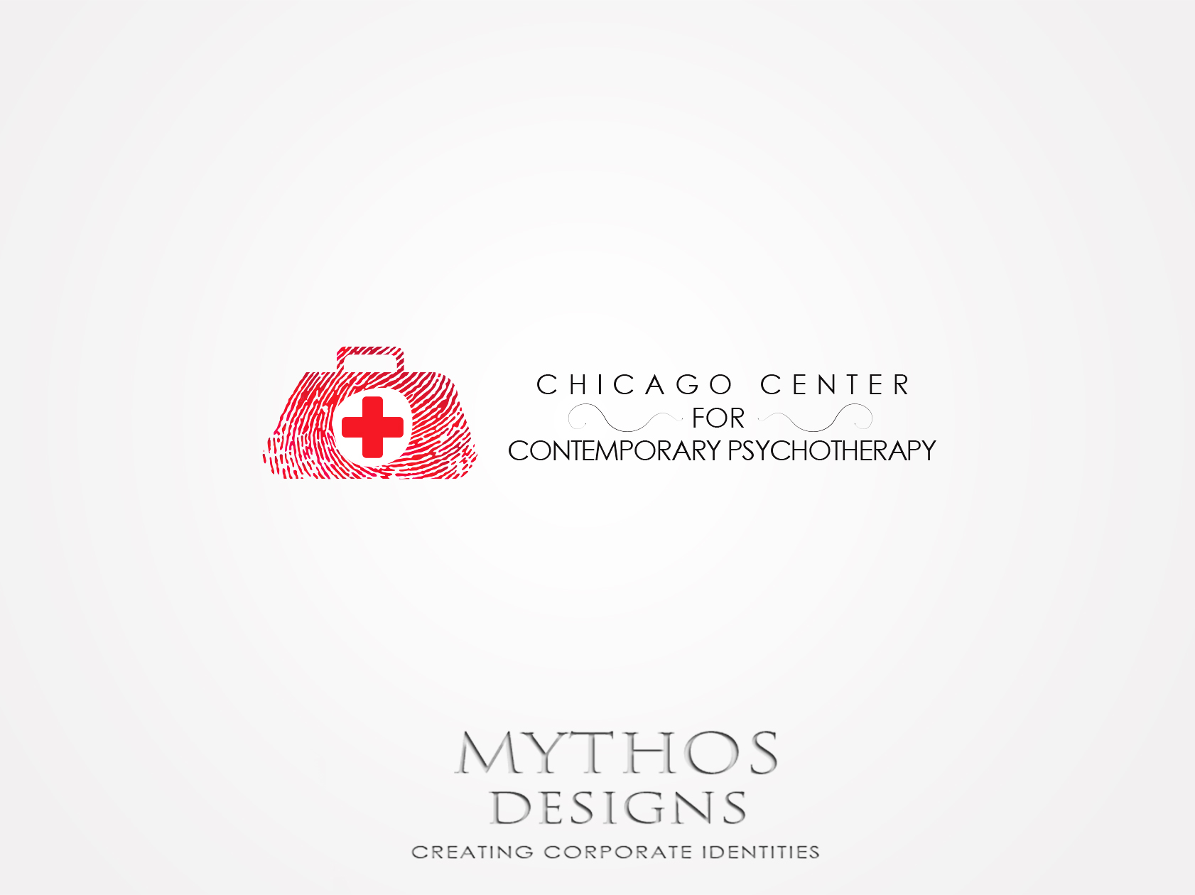 Logo Design by Mythos Designs - Entry No. 46 in the Logo Design Contest Inspiring Logo Design for Chicago Center for Contemporary Psychotherapy.