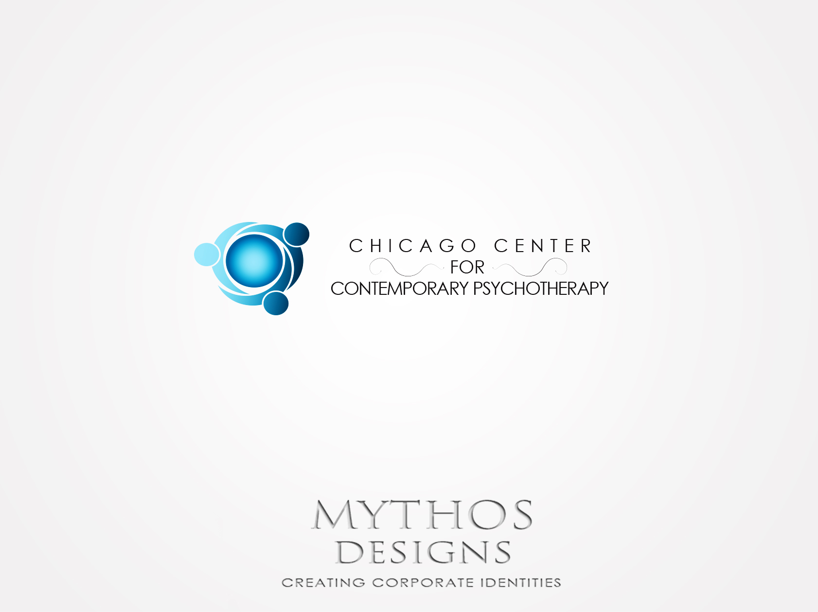 Logo Design by Mythos Designs - Entry No. 47 in the Logo Design Contest Inspiring Logo Design for Chicago Center for Contemporary Psychotherapy.
