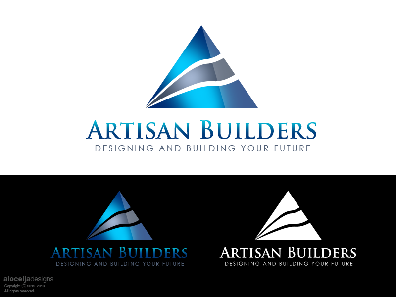Logo Design by alocelja - Entry No. 137 in the Logo Design Contest Captivating Logo Design for Artisan Builders.
