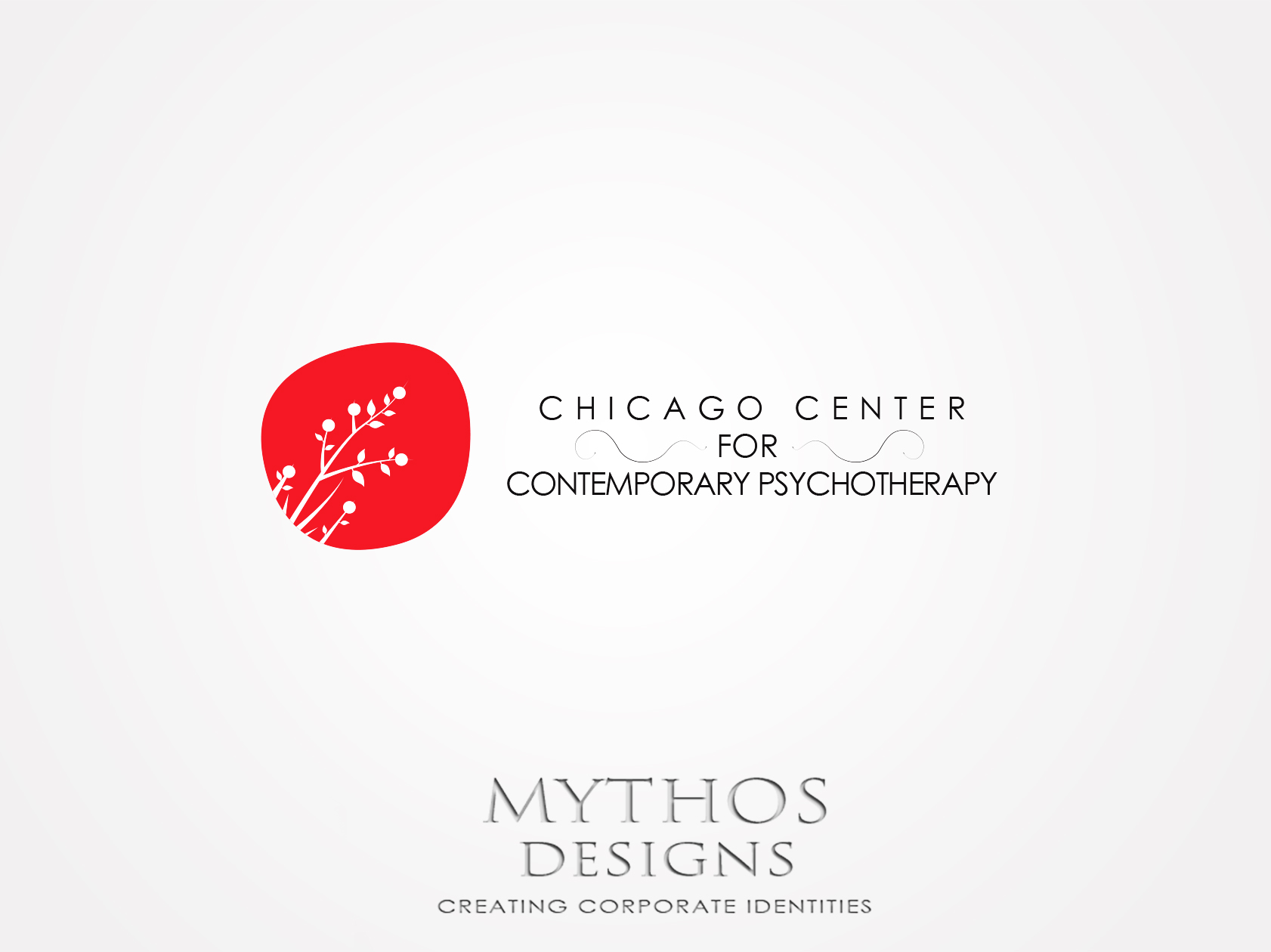 Logo Design by Mythos Designs - Entry No. 48 in the Logo Design Contest Inspiring Logo Design for Chicago Center for Contemporary Psychotherapy.