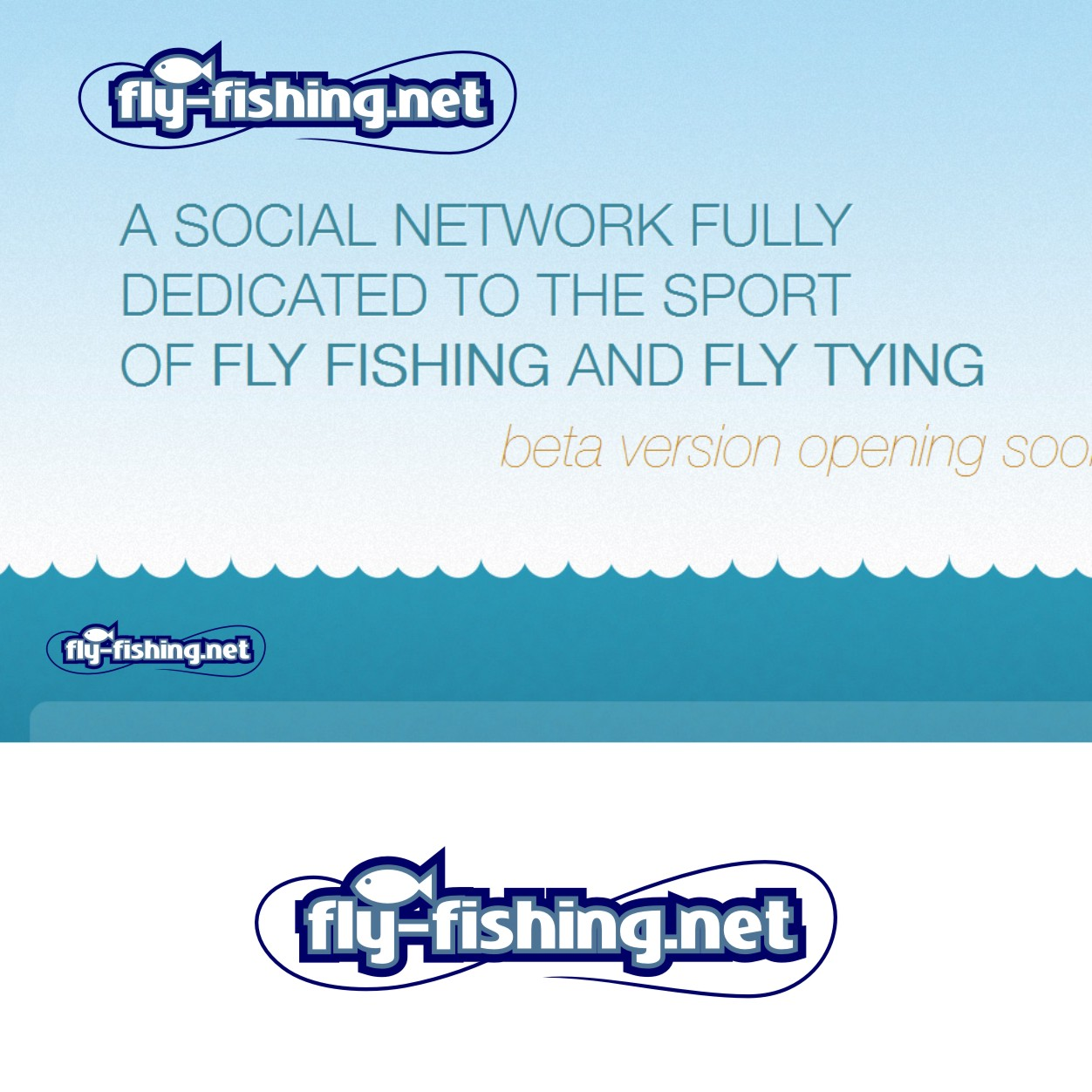 Logo Design by Private User - Entry No. 25 in the Logo Design Contest Artistic Logo Design for fly-fishing.net.