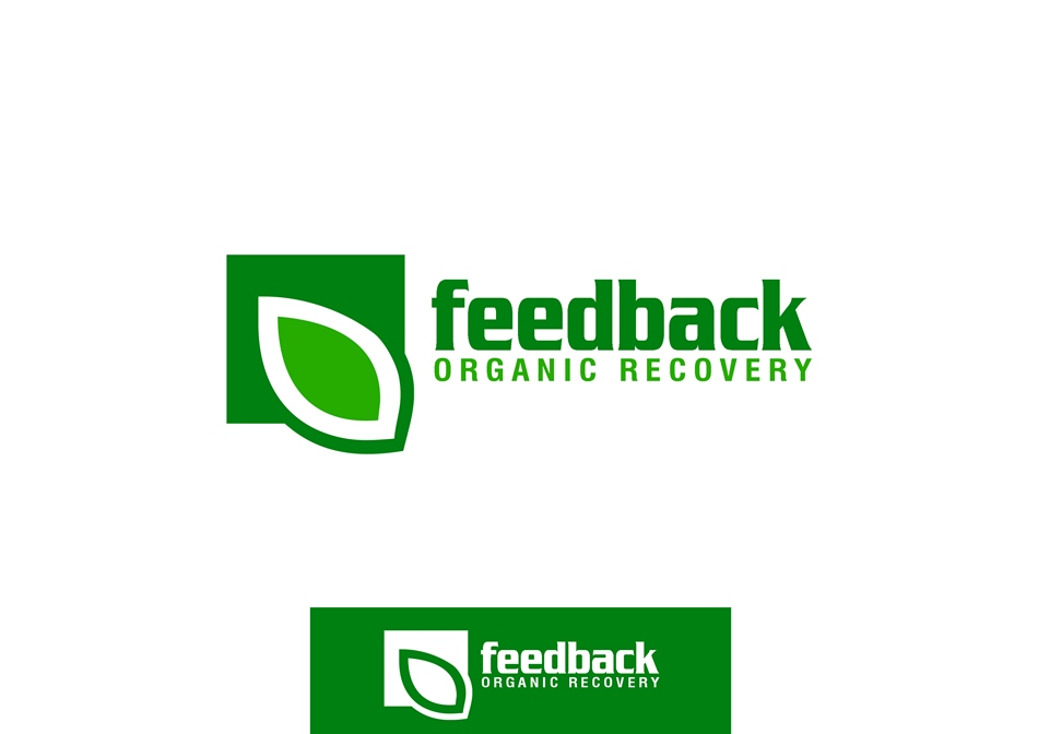 Logo Design by Respati Himawan - Entry No. 82 in the Logo Design Contest Feedback Organic Recovery  Logo Design.