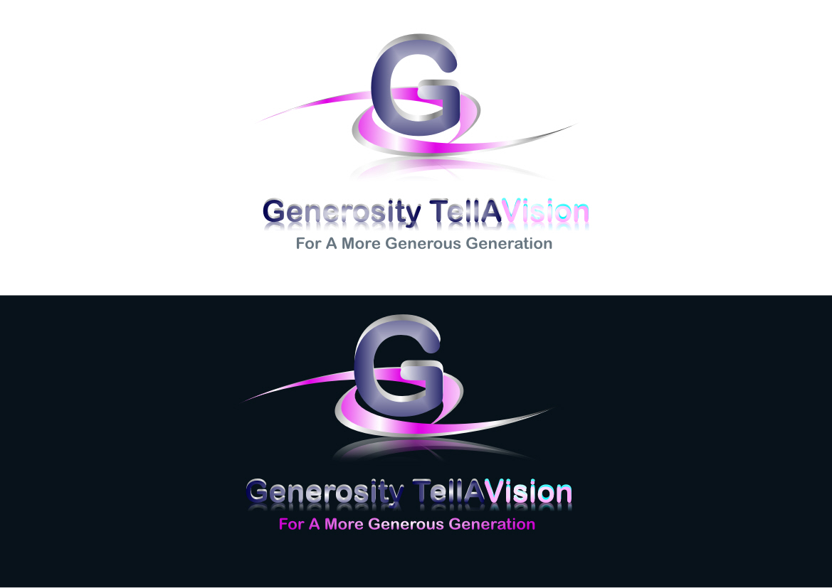 Logo Design by Heri Susanto - Entry No. 38 in the Logo Design Contest Artistic Logo Design for Generosity TellAVision.