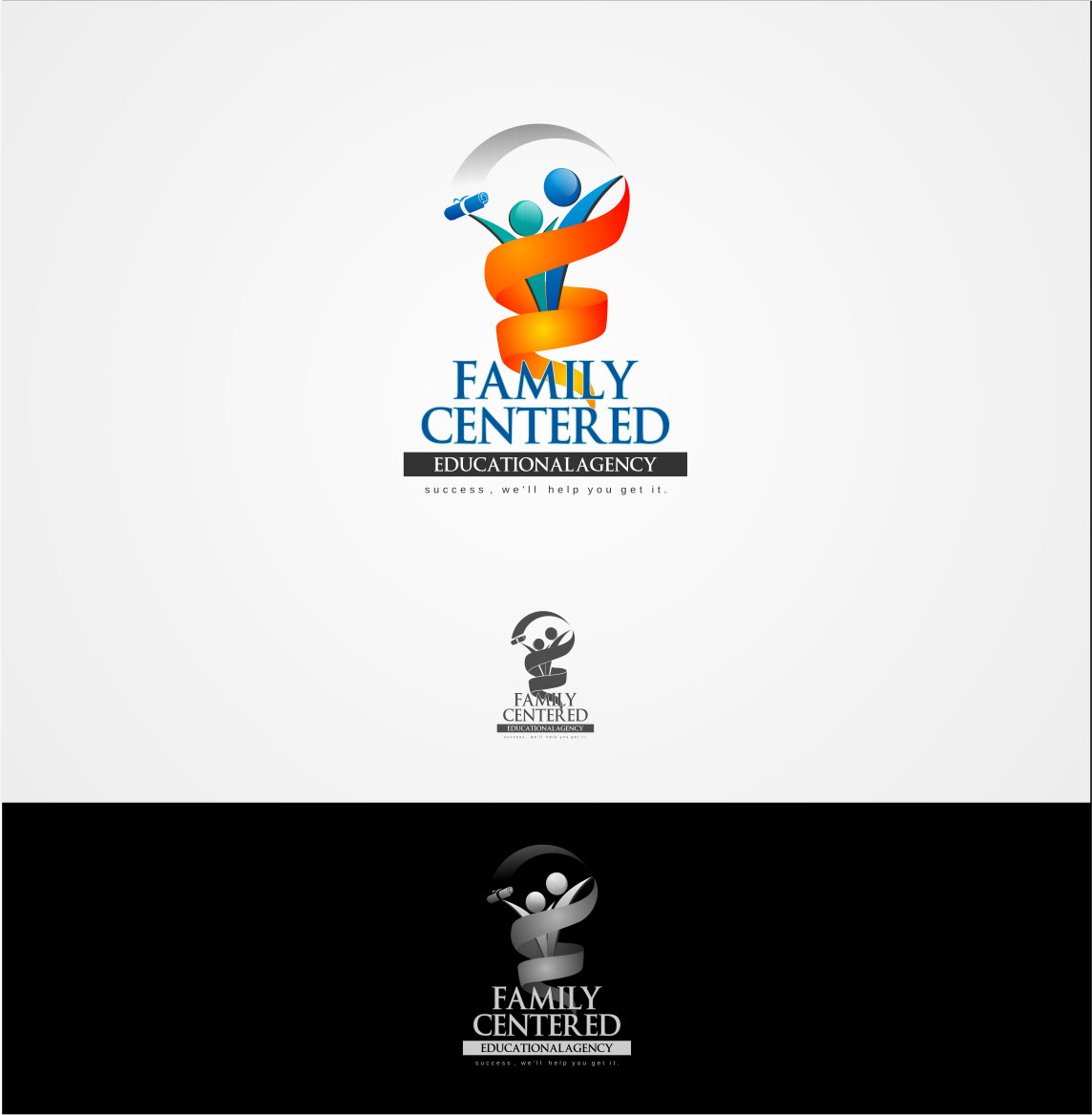 Logo Design by Private User - Entry No. 20 in the Logo Design Contest Captivating Logo Design for Family Centered Educational Agency.