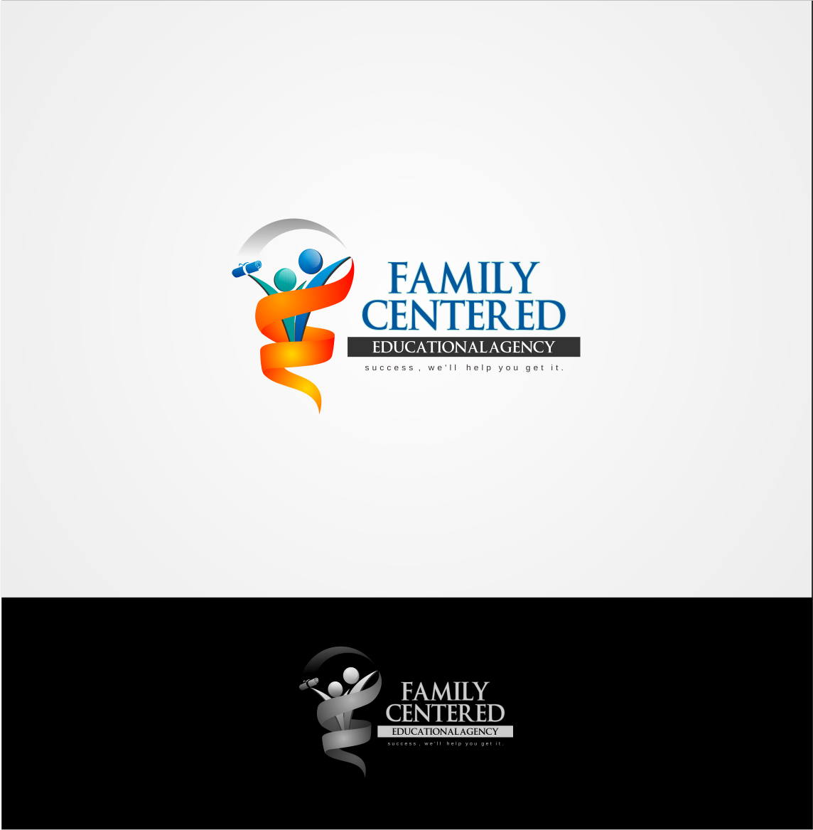 Logo Design by Private User - Entry No. 21 in the Logo Design Contest Captivating Logo Design for Family Centered Educational Agency.