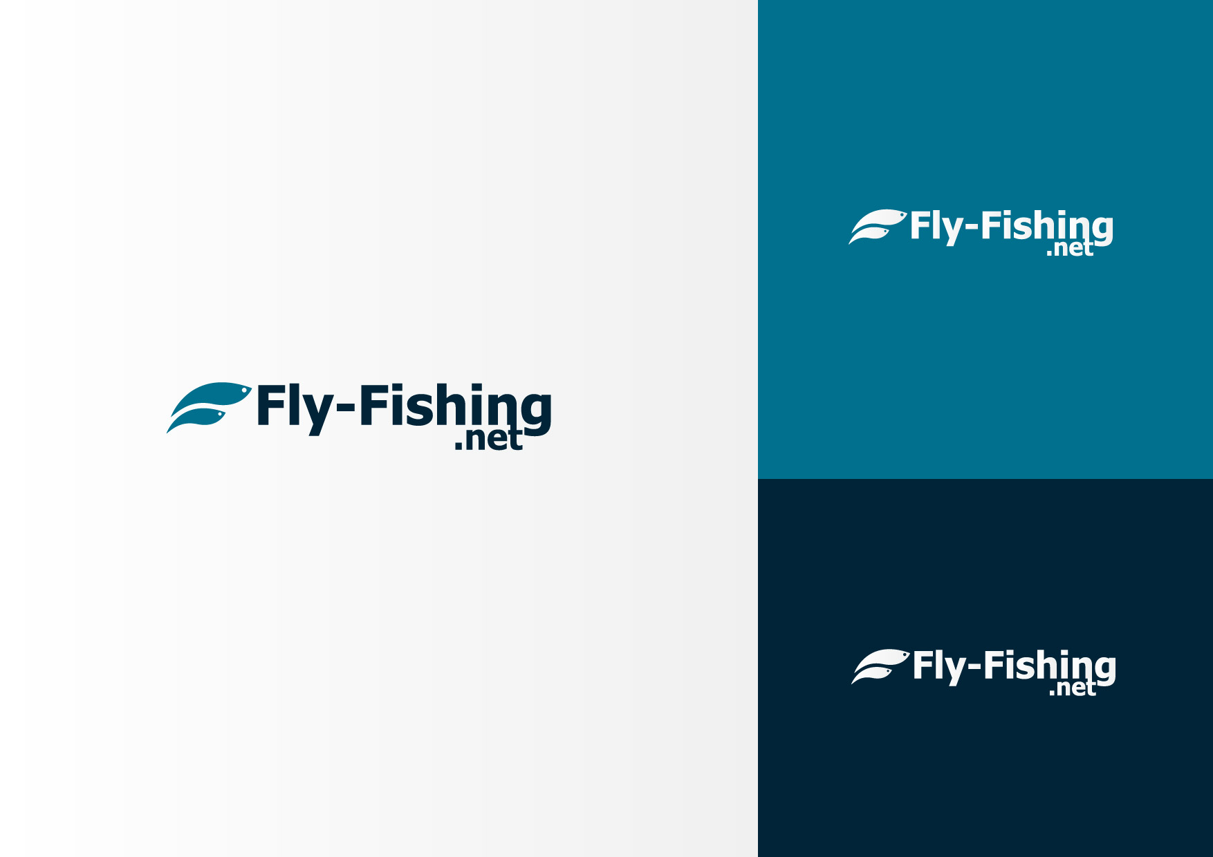 Logo Design by Osi Indra - Entry No. 27 in the Logo Design Contest Artistic Logo Design for fly-fishing.net.