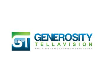 Logo Design by Deni Prawira - Entry No. 39 in the Logo Design Contest Artistic Logo Design for Generosity TellAVision.